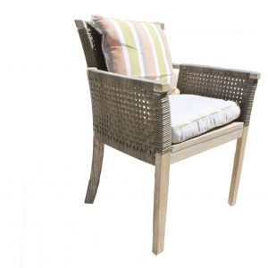 Rio Armchair Highback Wicker-0