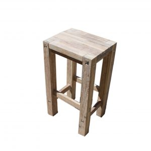 Sturdy High Stool White-0