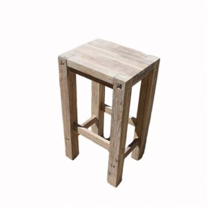 Sturdy High Stool White-1542