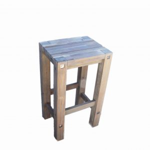 Sturdy High Stool Grey -1544
