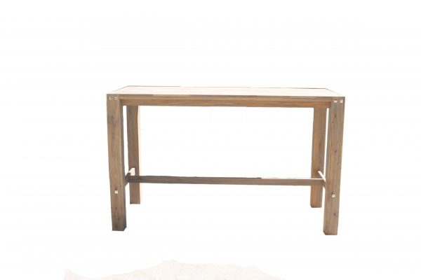 sturdy Table 180 cm Long Grey Oil Brush-1540