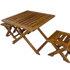 Foldable children table set-0