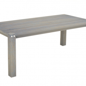 Sturdy Table 200 cm Long Grey Finish-0