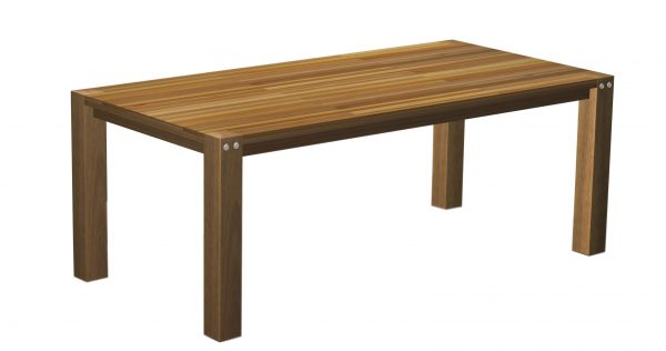 Sturdy Table 200 cm Long Natural Finish-0