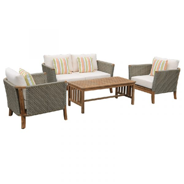 Classic 4 Piece Outdoor Setting