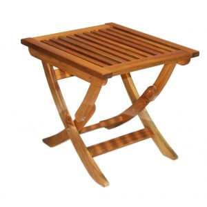 Espanyol Folding Square Table 80 cm -0