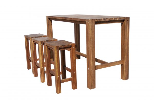 Sturdy Table 180 cm Long Natural Oil Finish-1655