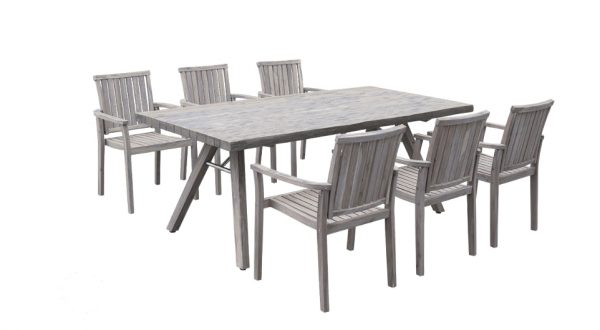 Image of the Classic Sturdy Grey Table