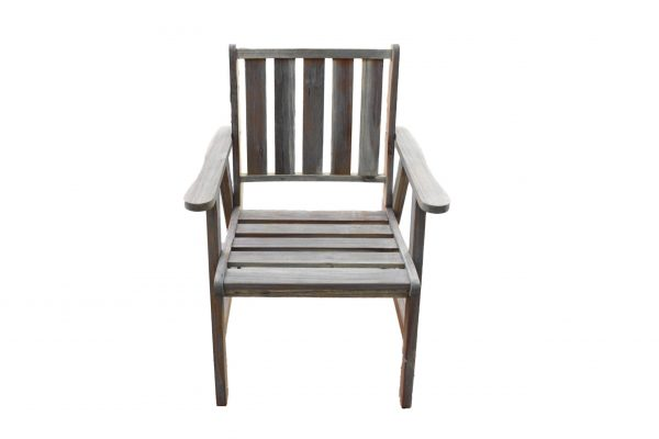 Image Sturdy White Chair