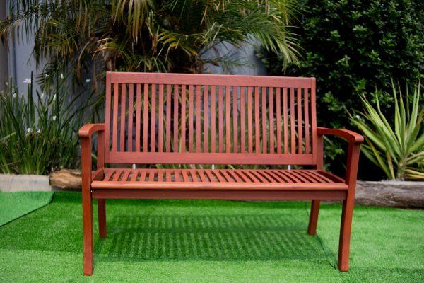 Image Espanyol 3 Seater Bench Red